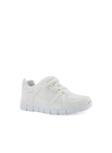 Slazenger Slazenger AFRA I Spor Çocuk Ayakkabı Haki Beyaz